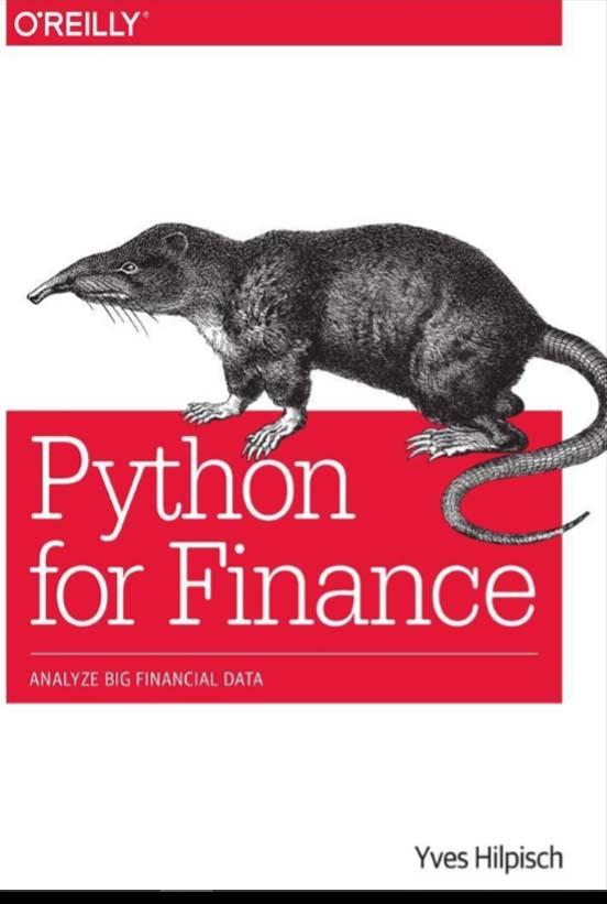 کتاب پایتون مالی Python for Finance
