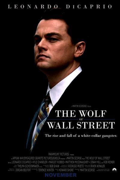 پوستر فیلم سینمایی گرگهای وال استریت