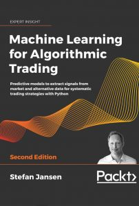 Machine Learning for Algorithmic Trading Cover